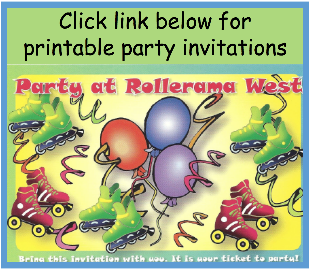 west party invite